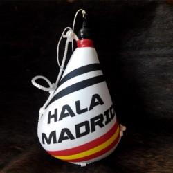 Bota de vino látex exterior tela Hala Madrid